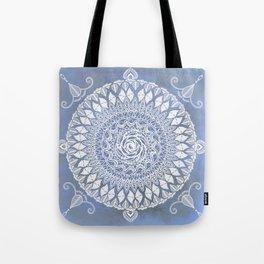 Paisley Moon Henna Mandala Tote Bag