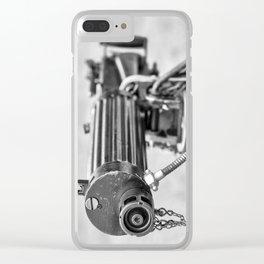 Vickers Machine Gun Clear iPhone Case