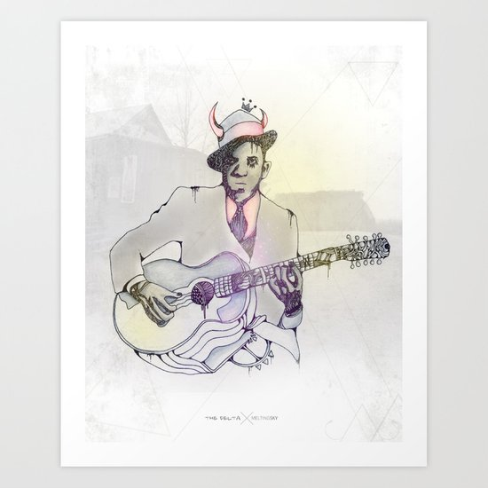 Robert Johnson Art Print