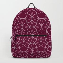 Geometric Pattern 003 - burgundy Backpack