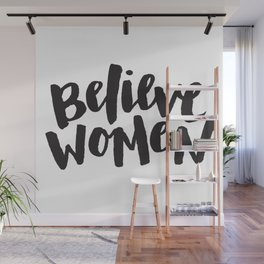 Believe Women Wall Mural