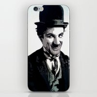 charlie iPhone & iPod Skins featuring Charlie by AUSKMe2Paint