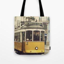 Tram numero 28 Tote Bag