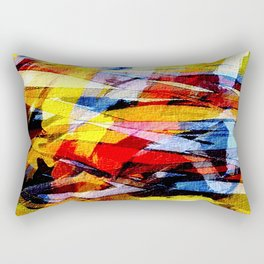 abstrakt 53 color Rectangular Pillow