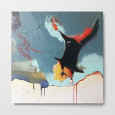 Listen to the Crows #4 Metal Print