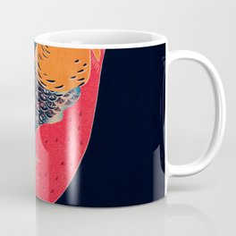 Golden Pheasant Traditional Japanese Wildlife Coffee Mug