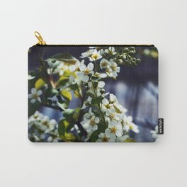 Bird cherry over water Carry-All Pouch