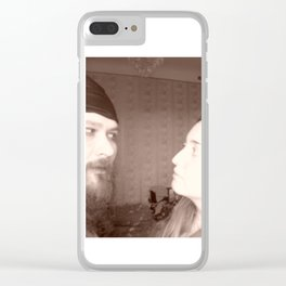 Why you look at me like at someone else? Clear iPhone Case