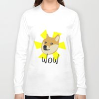 doge Long Sleeve T-shirts featuring Doge by Subtle Tee