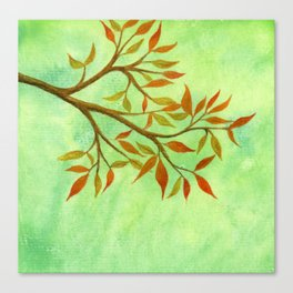 A Branch of Autumn Canvas Print