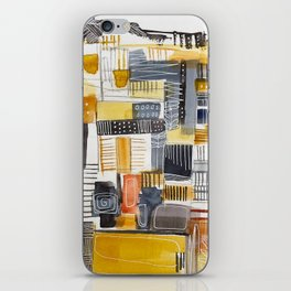 Autumn Rituals Abstract Painting iPhone Skin