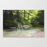 kentucky Canvas Prints featuring Kentucky Creek by MacDonald Creative Studios