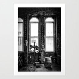 Mash and Barrel Art Print