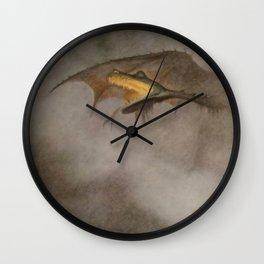 """The Dragon Awakes"" by Theodor Kittelsen Wall Clock"