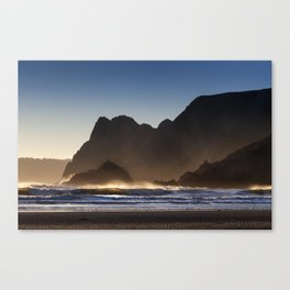 The Great Tor in Gower Canvas Print