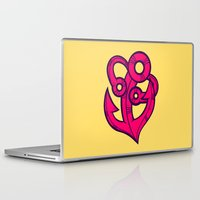 anchor Laptop & iPad Skins featuring Anchor by Artistic Dyslexia