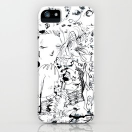 Inky Chaos iPhone Case