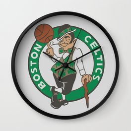 Boston Celstics Logo Wall Clock