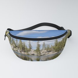 mosquito lake reflections Fanny Pack