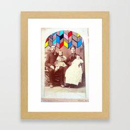 Family Values. Framed Art Print