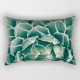 Succulent bloom II Rectangular Pillow