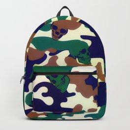 Halloween Skull Camouflage Backpack
