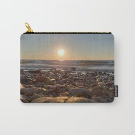 Majestic Beach Sunset Carry-All Pouch