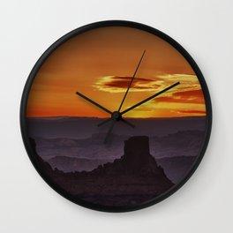 """""""Morning Layers"""" Wall Clock"""
