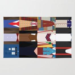The Doctors - Doctor Who & TARDIS Rug