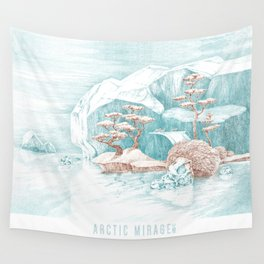 Arctic Mirage Wall Tapestry