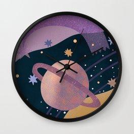 Cosmos #1 Wall Clock