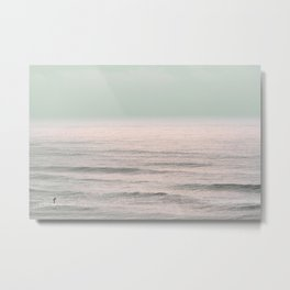 Winter Surfing IV Metal Print