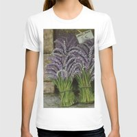 lavender T-shirts featuring LAVENDER by ART FEEDS HUNGER