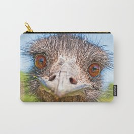 Funny emu Carry-All Pouch
