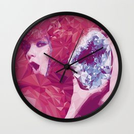 Bjork Low Poly Collection Wall Clock