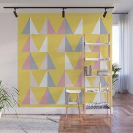 Abstract shapes 3 (Minimalism artwork) Wall Mural
