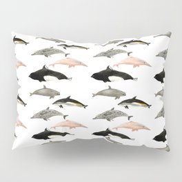 Dolphins and porpoises Pillow Sham