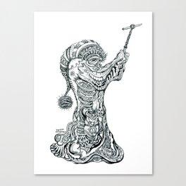 Gloomy's Cloak of Revelation. Canvas Print
