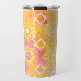 Watercolour Watercolor Paint Travel Mug