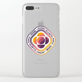 Psyche Mission Logo Clear iPhone Case