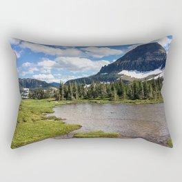 Mountain Bliss in Summer Rectangular Pillow