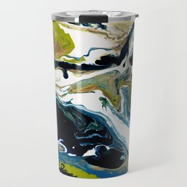 Abstract Flow Art - Expressions- We are all connected Travel Mug