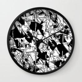 Rubble Wall Clock