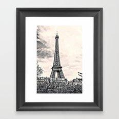 Another Eiffel Tower Photo Framed Art Print