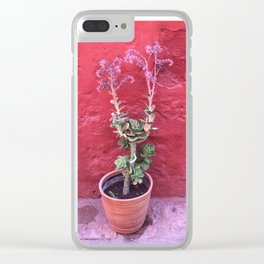 Arequipa Plants v.3 Clear iPhone Case