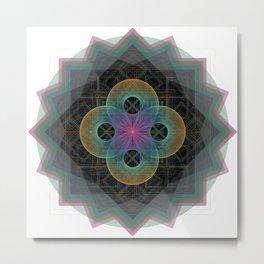 Sacred Circles Metal Print