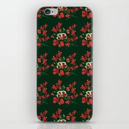 Enchanting Wild Flowers iPhone Skin