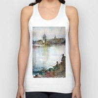 fishing Tank Tops featuring Fishing by Baris erdem