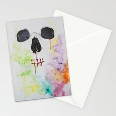 A beautiful array of something gone wrong Stationery Cards