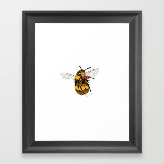 Bee tries Violin by waltwilkes